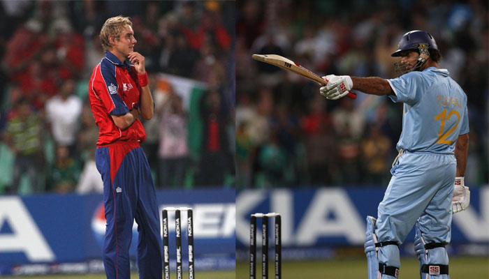 10 Years of Yuvraj Singh's Six Sixes!   Read Scoops