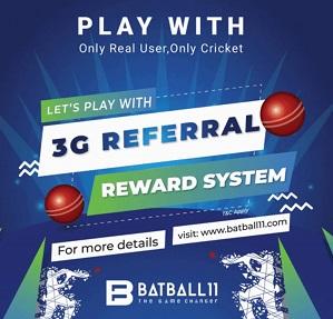 Batball11 - Enjoy the 3G Referral Reward System