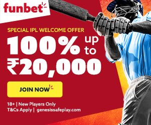100% Funbet India Sports Betting Bonus