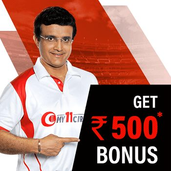 Subscribe to My11Circle to receive a bonus of up to Rs 500