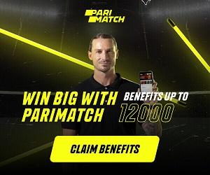 Parimatch Rs.12,000 Welcome Bonus