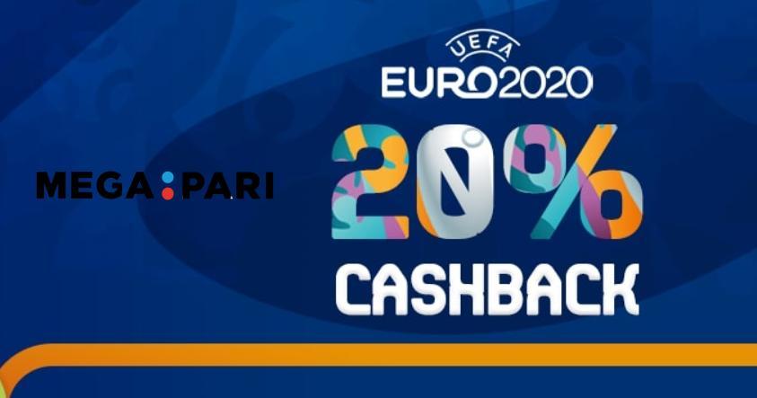 Claim 20% Euro 2020 Betting Cashback on Megapari