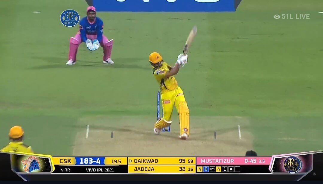 Ruturaj Gaikwad scores Maiden IPL Century